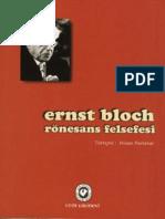 Ernst Bloch Ronesans Felsefesi Uzerine