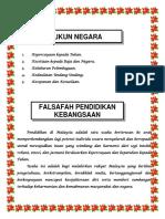 1 -Rukun Negara Dan FPK