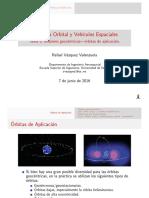 Mecánica Orbital y Vehículos Espaciales