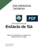 Sistemas Hidráulicos Sanitários
