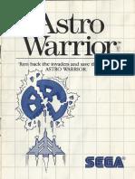 Astro Warrior - 1986 - Sega