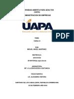 INT. A LA EDUCACION A DISTANCIA TAREA 6.docx