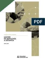 Master Sexologia a Distancia UCJC 2018