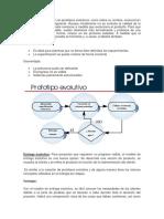 Tipos de ciclo de vida de un proyecto