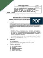 Directiva de Contrato en La Modalidad de Invitado Para Acceder a Funcion Docente