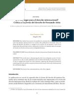 No hay lugar para el derecho internacional.pdf