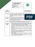 8.1.2.1 a Sop Permintaan Pemeriksaan Laboratorium
