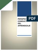 Perspectivas Conductistas Del Aprendizaje.