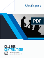 UNIAPAC Call for Contributions