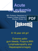 Types of Acute Leukemias