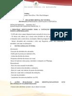 6. Relatório Mensal Tutoria