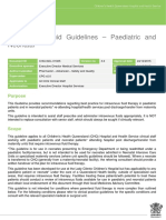 ARCS Paediatric IV Fluid Guidelines