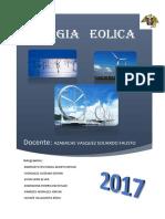 Energía eolica proyecto uNt