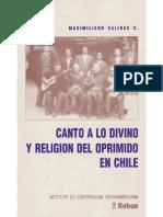Maximiliano Salinas. Canto a lo divino y religión del oprimido