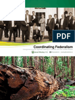 Webinar - Coordinating Federalism - Intergovernmental Agenda-Setting in Canada and the United States