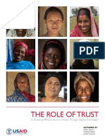 The Role of Trust