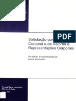 Dissertação_Satisfação Com a Imagem Corporal e Os Valores e Representações Corporais