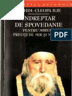 Parintele Cleopa - Indreptar de Spovedanie