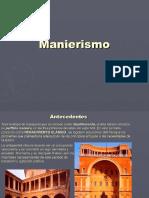 Manierismo Arquitectura FADU
