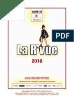 La R'Vue 2010 - Dossier Presse