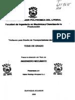 D-27768 Calculo de Correa