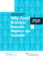 Why Family Business Success Matters for Canada