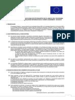 Convocatoria Erasmus Estudios 18 19