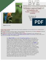 Picapeci - Una palabra estremeña del tueru lingüístico leonés por Juan Carlos Paniagua