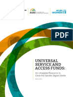 Using USAFs to Close the Gender Digital Divide in Africa