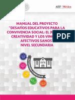 CLUB Desafios Educativos Para La Convivencia Secundaria