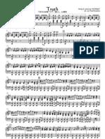 Truth - Arashi Violin & Piano Music Sheets