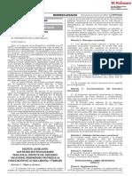 Decreto Legislativo Que Establece Regulaciones Para Que El d Decreto Legislativo N° 1405 1690481 1