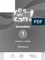 Yes, We Can! Secondary 1