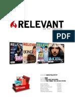 Relevant Marketing Plan