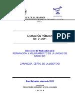 Ejemplo de Documento de Licitacion