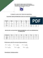 Formulario......Trigonometría