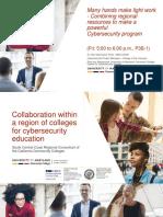 Cyber Security Training Using Virtual Labs 3CS UMUC Presentation August 2018