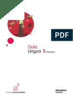 Lingua 5º Primaria - Guía