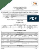 Subasta Id 210505 Acta