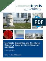 Memoria_cientifica De Ramon y Cajal