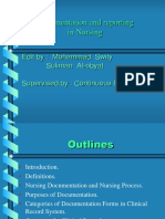 Documentation and reporting in nursing.ppt