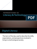 Literacy & Technology FACCS 2010