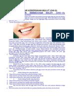 Cara Mengukur Kebersihan Mulut