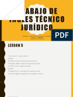 Ingles Técnico Jurídico Unit 5