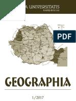 Studia Ubb Geografie 2017