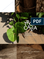 Tropicalia's Sustainability Report - 2017