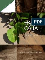Reporte de Sostenibilidad Tropicalia - 2017