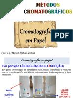 Metodos Cromatograficos - Cp e Ccd