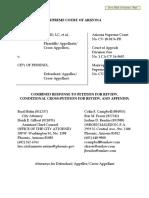 2018-09-07 COP-BrushNib - City of Phoenix Combined Response to Petition..