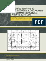Diseño de Un Edificio de Albañileria Confinada Aplicando